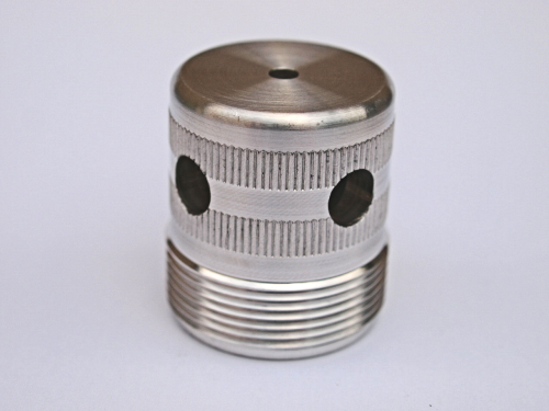v.t.g. alloy loading cap