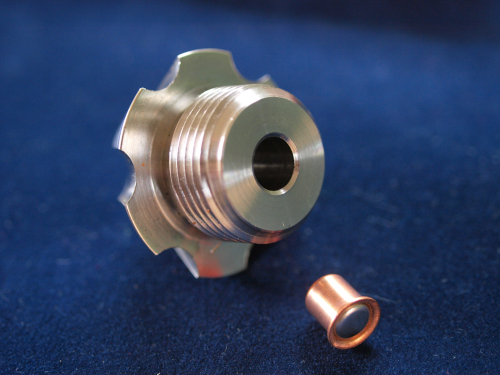 bfgx .209 adapter stainless steel